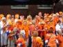 Gezamenlijk optreden in Aubade met het Groot Vlaardingskoor - april