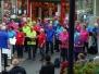 Optreden in winkelcentrum Spaland, Schiedam